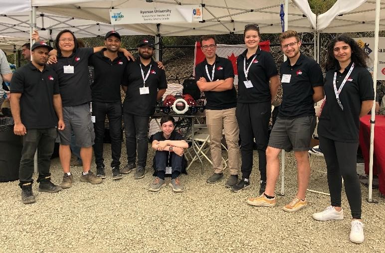 RoboSub Team at Competition